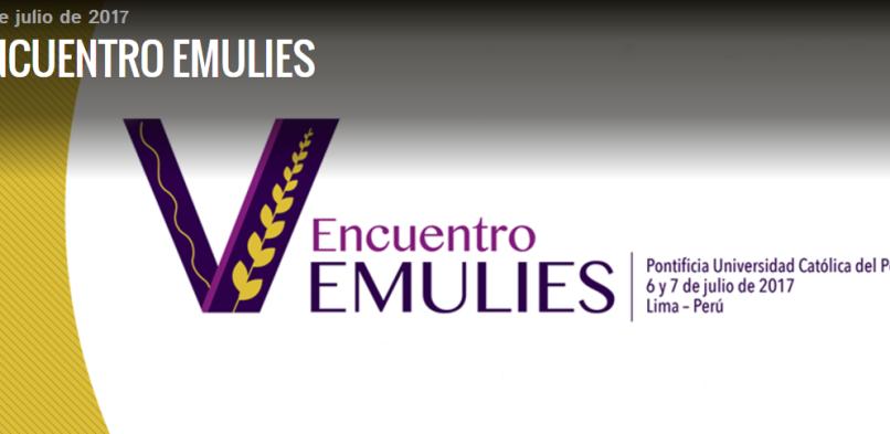 V Encuentro EMULIES