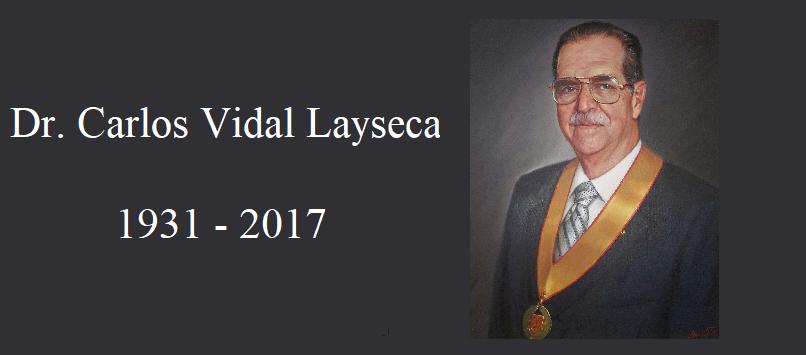 Dr. Carlos Vidal Layseca