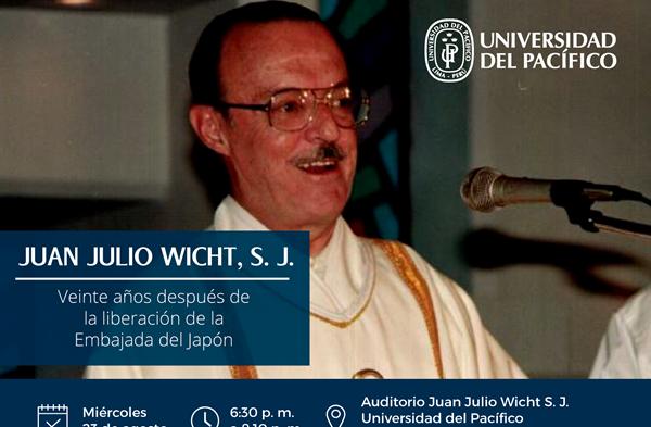Juan Julio Wicht, S. J. Veinte años después de la liberación de la Embajada del Japón