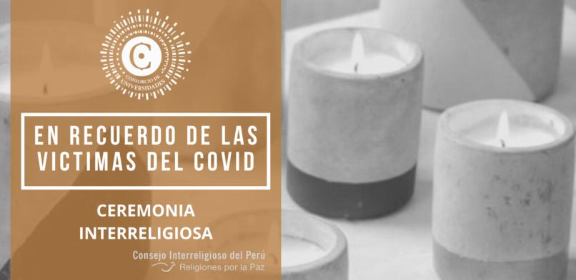 Ceremonia Interreligiosa: En recuerdo de las víctimas del covid